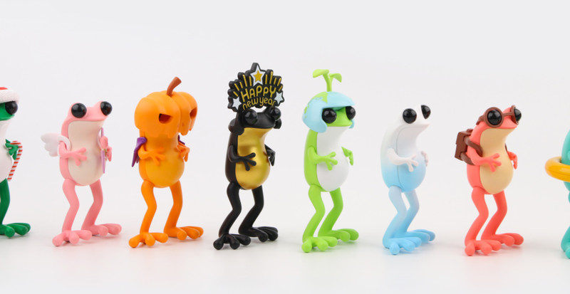 APO Frogs 12 Months Blind Box by Twelvedot PRE-ORDER SHIPS MAR 2021