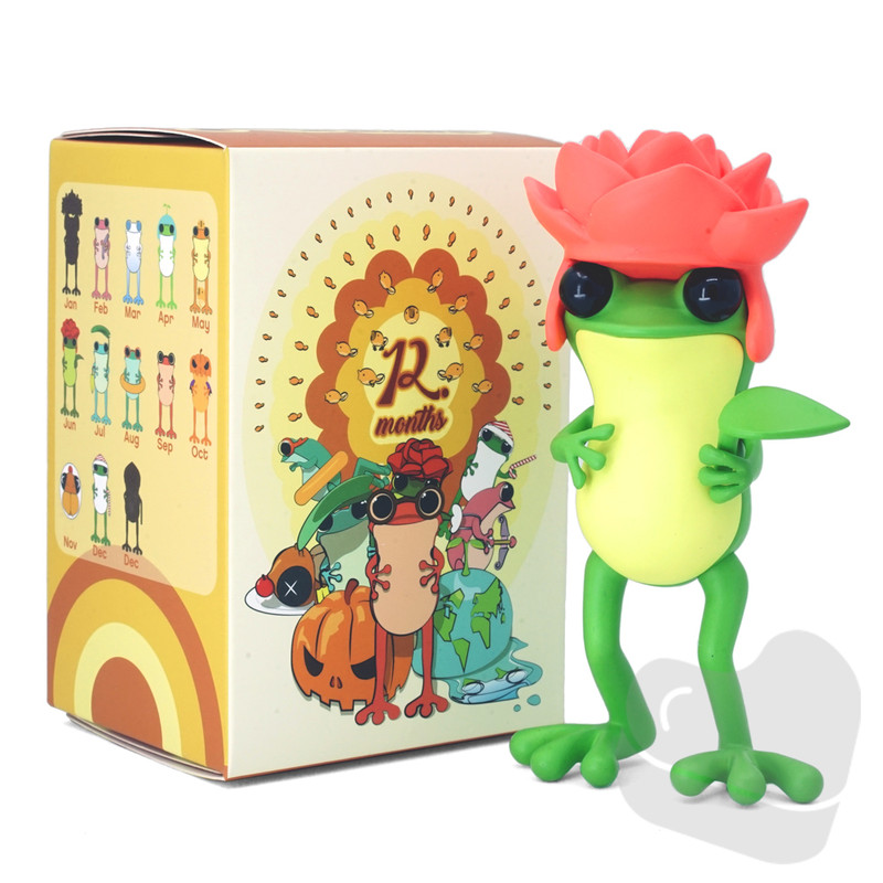 APO Frogs 12 Months Blind Box by Twelvedot PRE-ORDER SHIPS OCT 2021