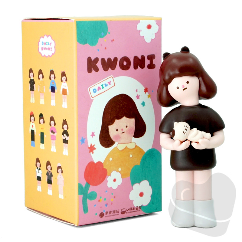 Daily Kwoni Blind Box by Raccoon Factory