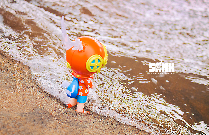 On the Way Series Backpack Boy Hawaii by Sank Toys PRE-ORDER SHIPS FEB 2021
