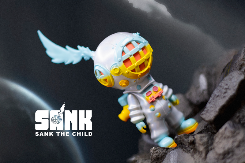 On the Way Space Traveller White Fantasy by Sank Toys PRE-ORDER SHIPS MAR 2021