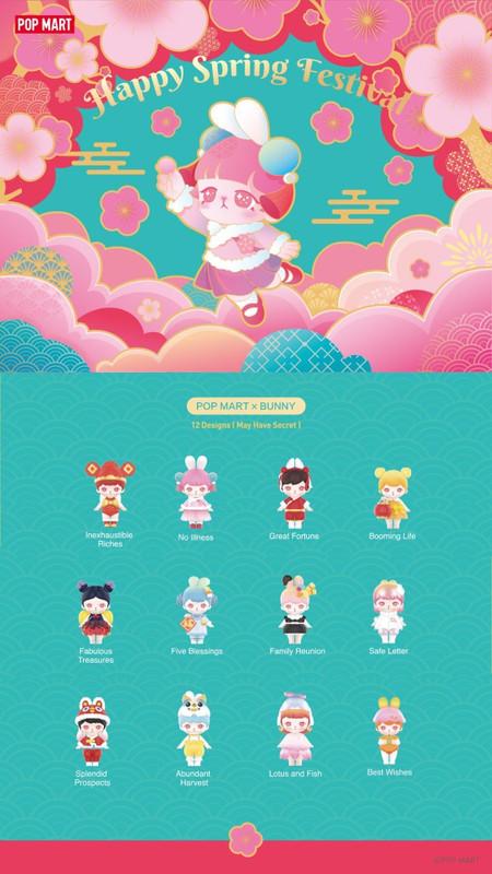 Bunny Happy Spring Festival Mini Series Blind Box