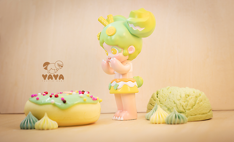 Yaya Matcha Sundae by Moe Double Studio