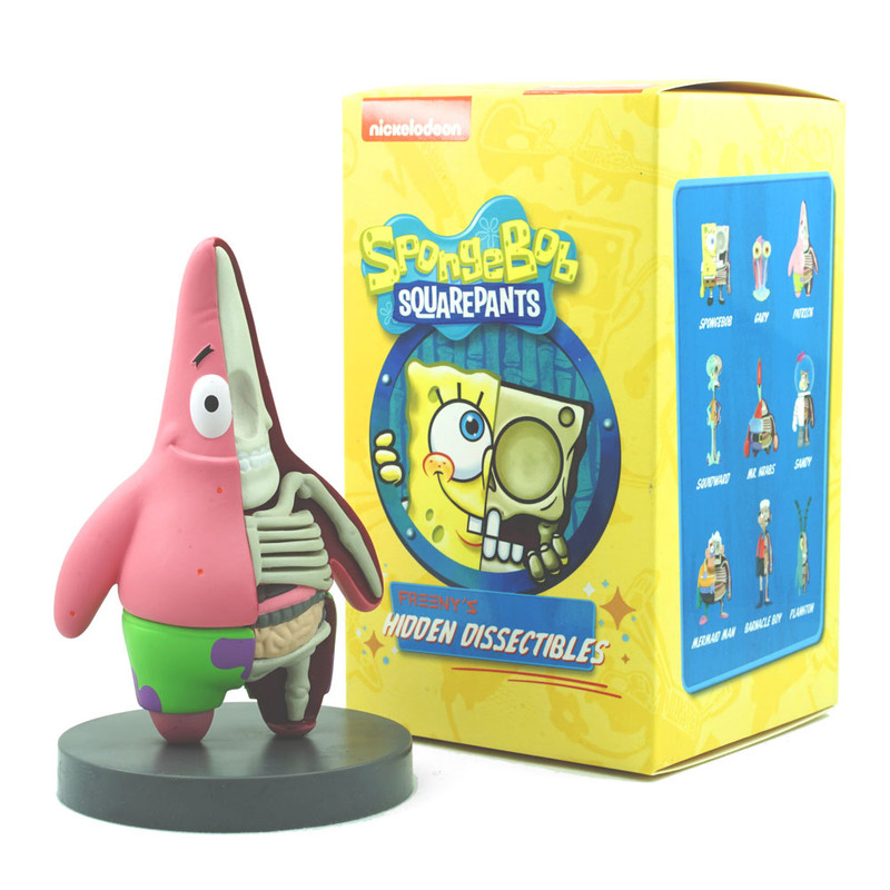 Freeny's Hidden Dissectibles Spongebob Squarepants Blind Box by Jason Freeny