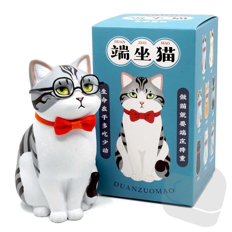 Sitting Cats Series Blind Box PRE-ORDER SHIPS DEC 2021