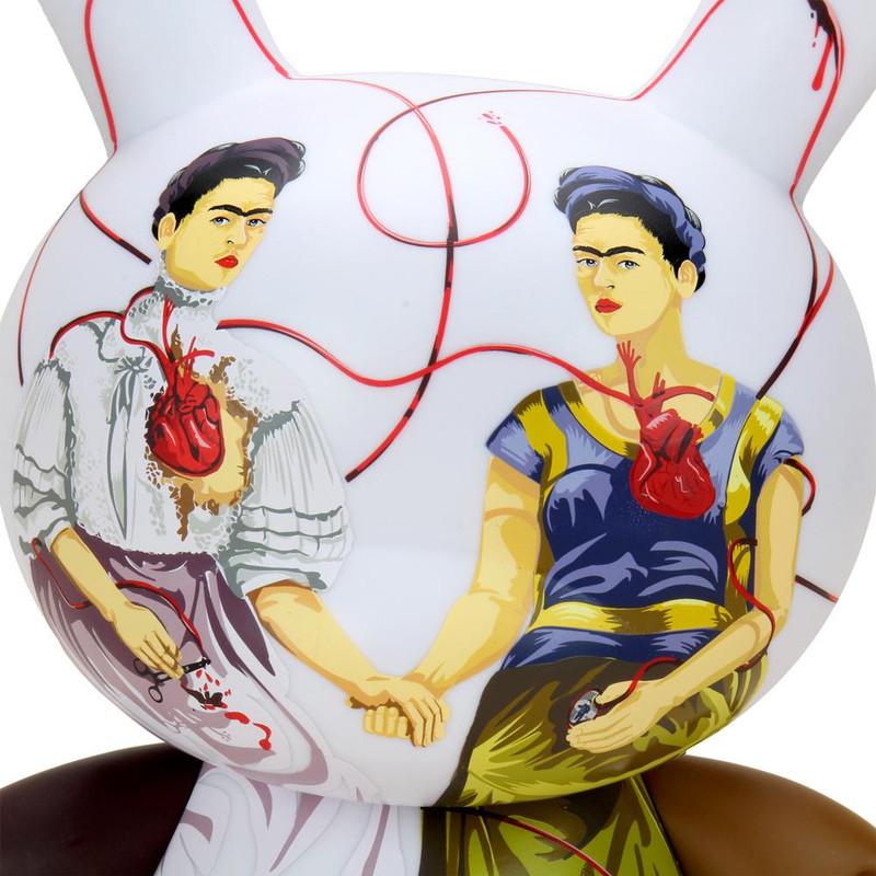 """Frida Kahlo 8"""" Dunny Two Fridas"""
