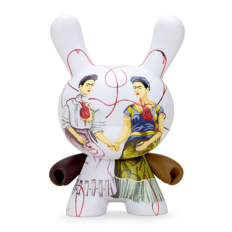 "Frida Kahlo 8"" Dunny Two Fridas"