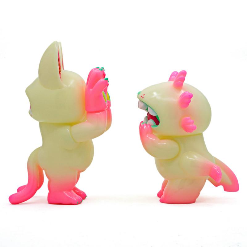 Onigiri & Macaroni Valentine myplasticheart exclusive by Grape Brain