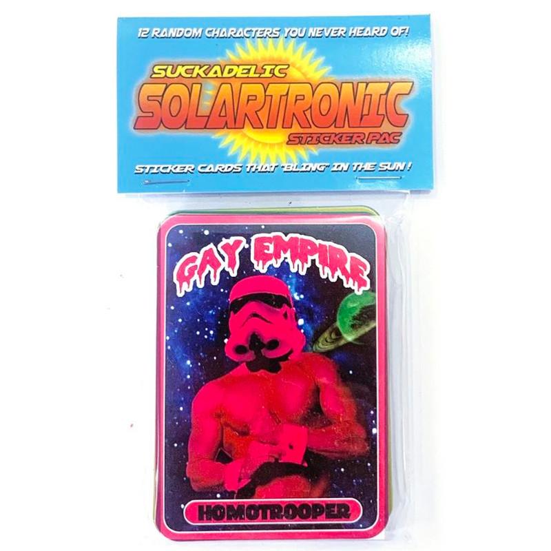 Solartronic Sticker Pack by Suckadelic