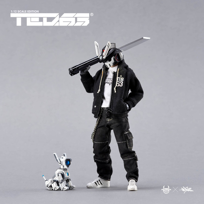 TEQ63 Action Figure OG Black Edition Standard Set by Quiccs PRE-ORDER SHIPS OCT 2021