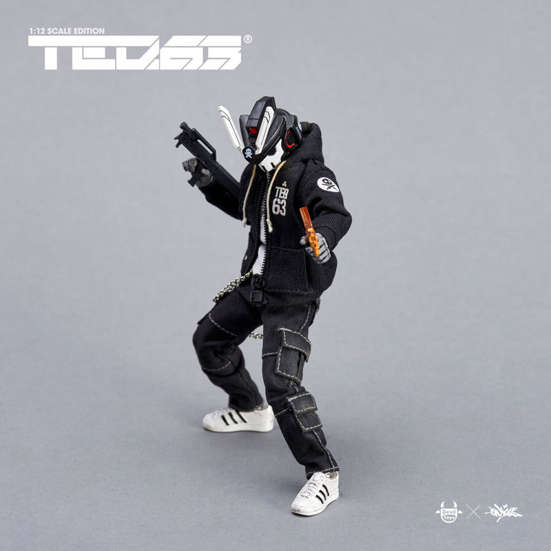 TEQ63 Action Figure OG Black Edition Deluxe Set by Quiccs PRE-ORDER SHIPS OCT 2021