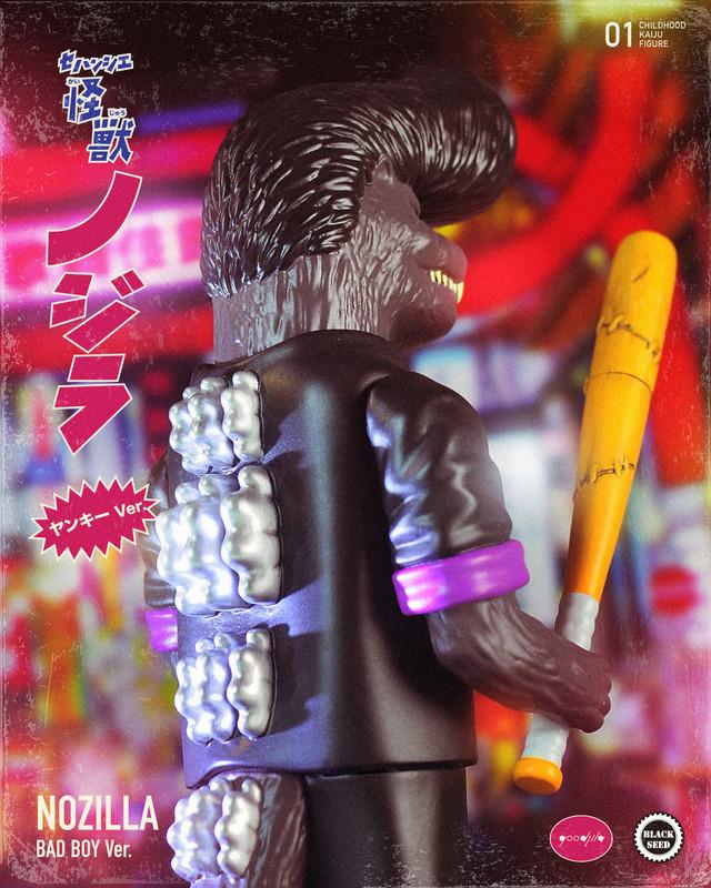 Bad Boy Nozilla by Noger Chen PRE-ORDER SHIPS JUN 2021