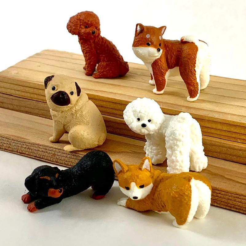 Turning Dog Capsule Toys
