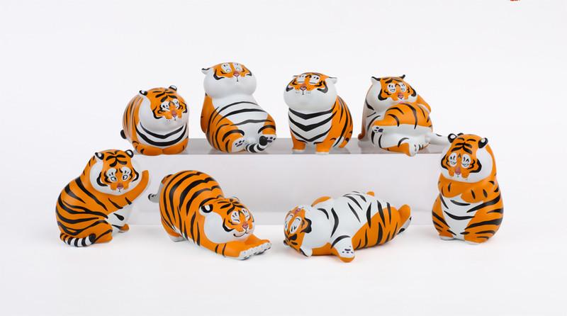 Fat Tiger Series Blind Box PRE-ORDER SHIPS JUN 2021