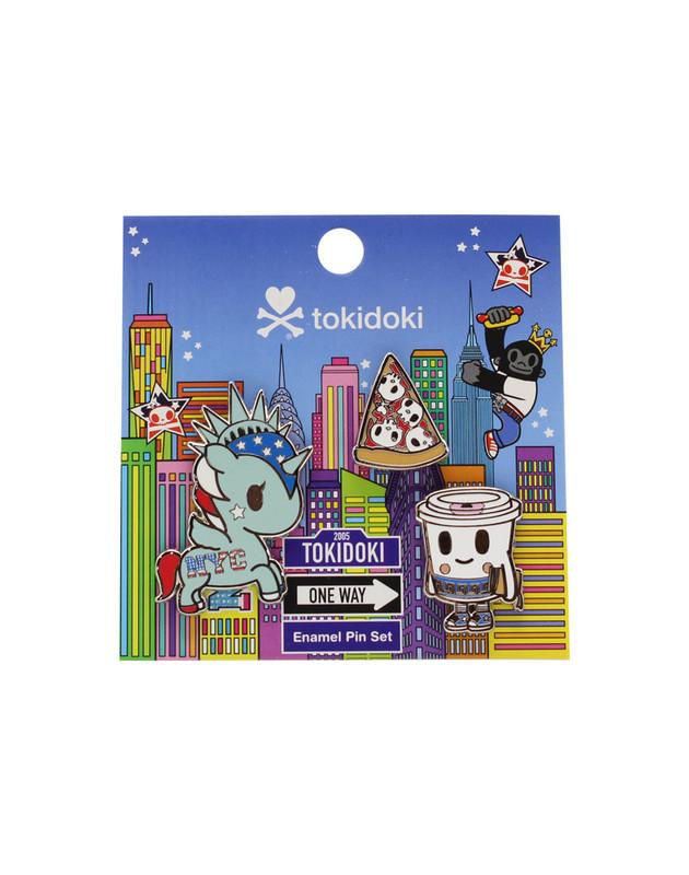 Tokidoki NYC Collection Enamel Pin Set