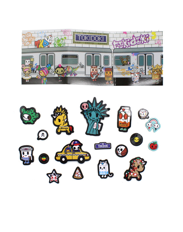 Tokidoki NYC Collection Magnetic Activity Kit Set