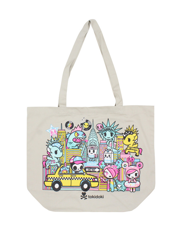 Tokidoki NYC Collection Twill Tote Bag