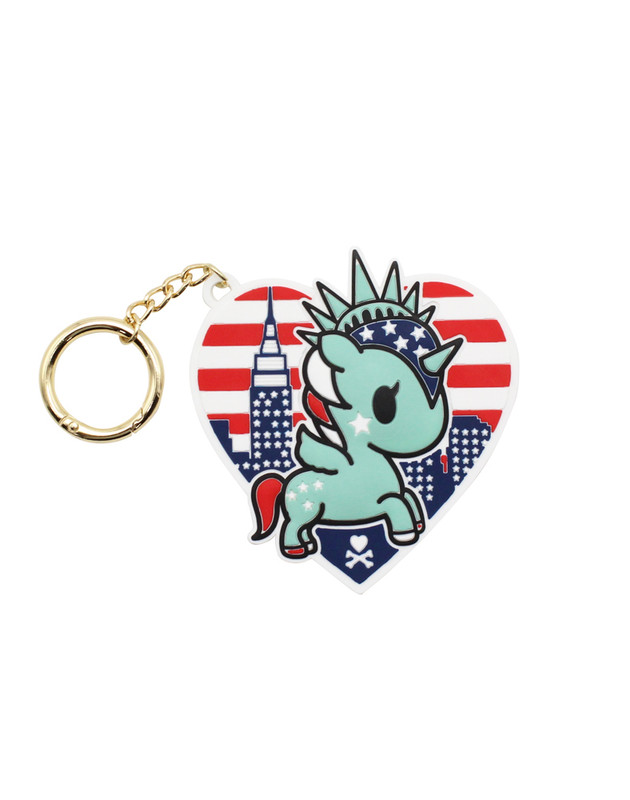 Tokidoki NYC Collection Silicone Key Chain