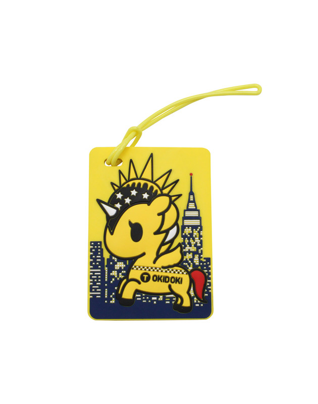 Tokidoki NYC Collection Luggage Tag