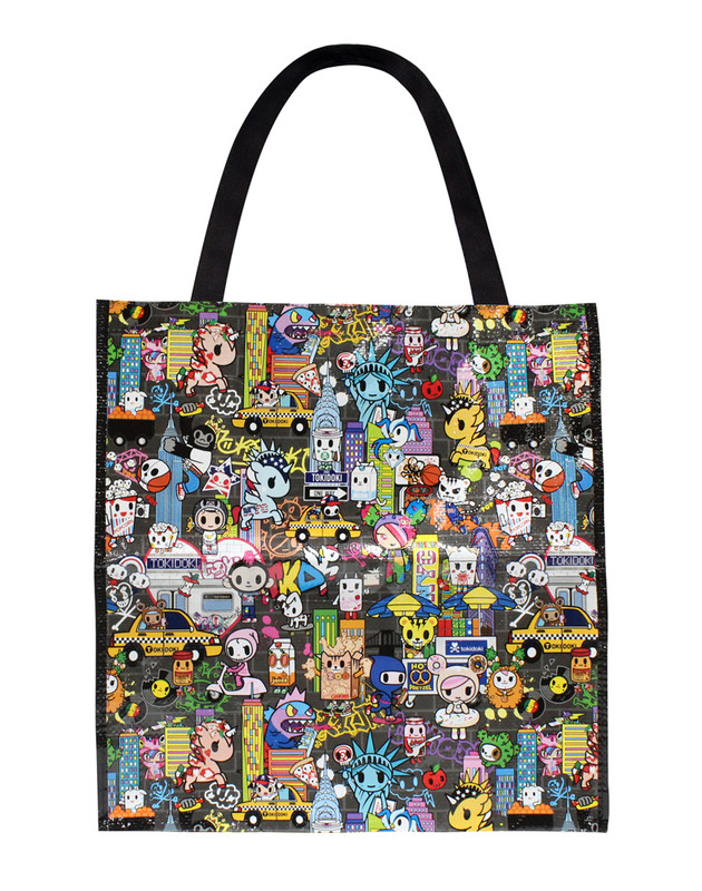 Tokidoki NYC Collection Vinyl Tote