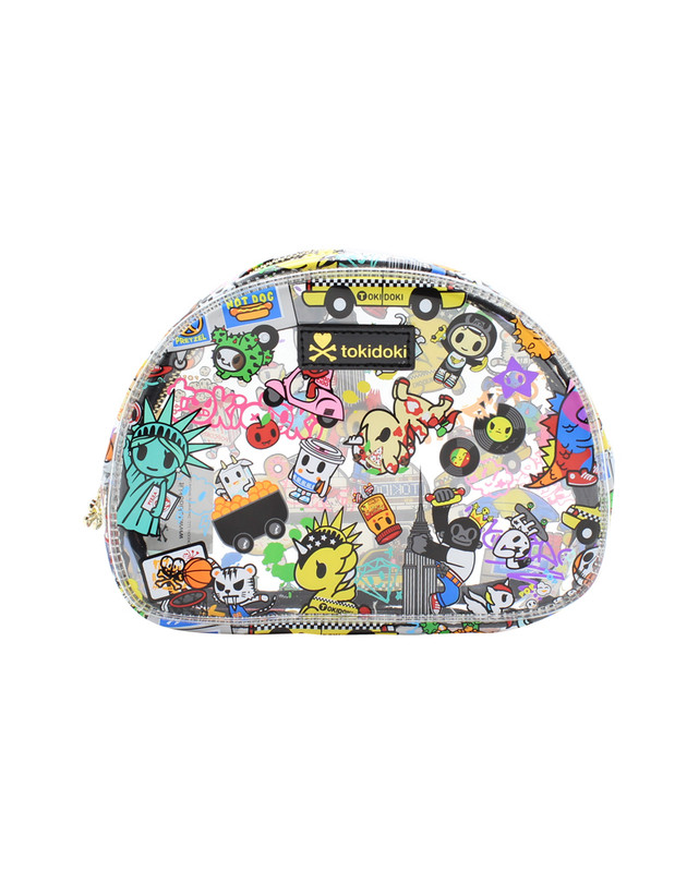 Tokidoki NYC Collection Clear Cosmetic Case