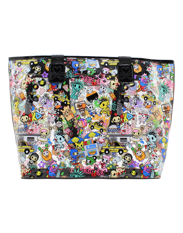 Tokidoki NYC Collection Clear Zip Tote