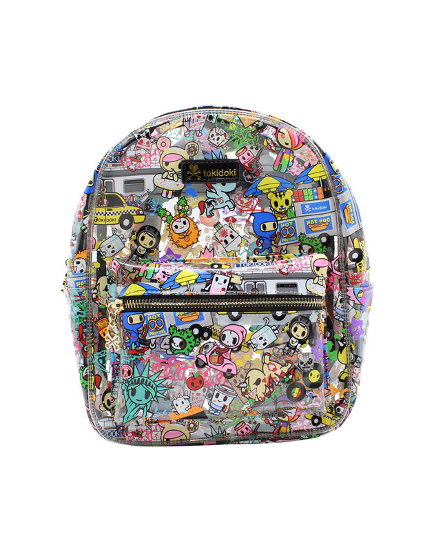 Tokidoki NYC Collection Clear Mini Backpack