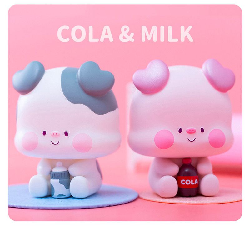 Cola Pigs Blind Box PRE-ORDER SHIPS MAY 2021