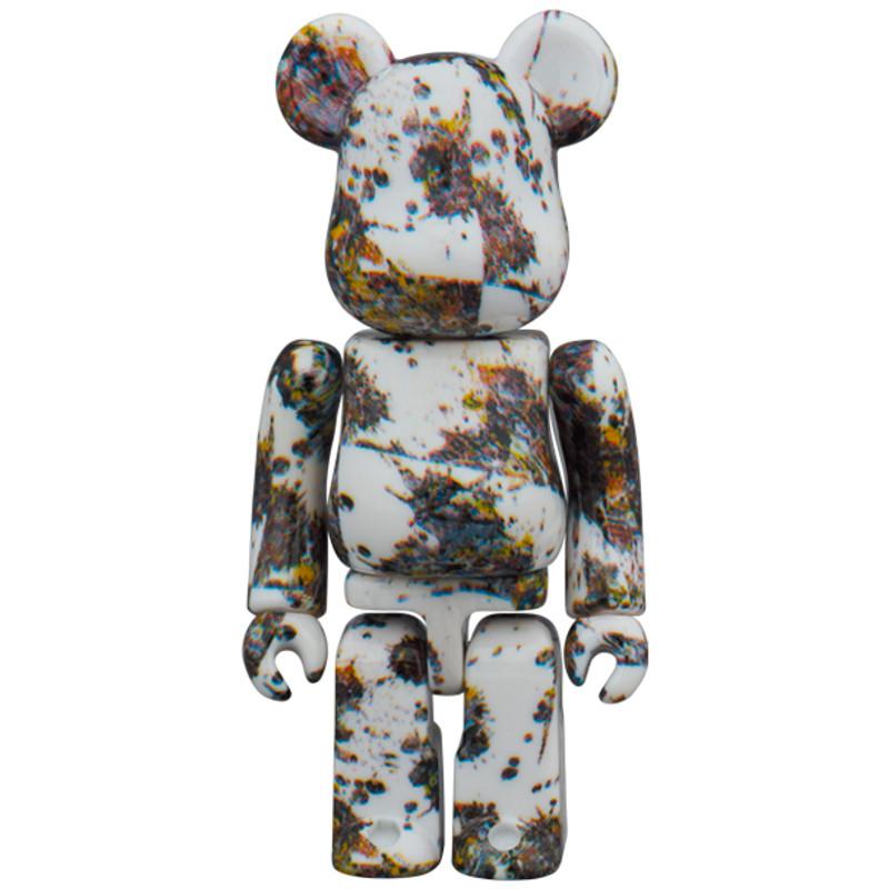 Be@rbrick 400% and 100% Jackson Pollock Studio (SPLASH)