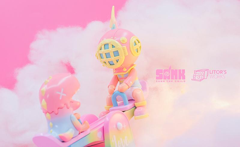 Sank Park Sweet Dream by Sank Toys x Litor's Works PRE-ORDER SHIPS JUN 2021