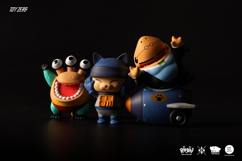 R.U.Y.H. SAMBO Set of 3 The Dark Knight Version by Momoco X Shon X Robin PRE-ORDER SHIPS MAY 2021