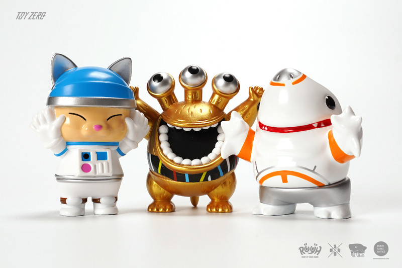 R.U.Y.H. SAMBO Set of 3 The Space War Version by Momoco X Shon X Robin PRE-ORDER SHIPS MAY 2021