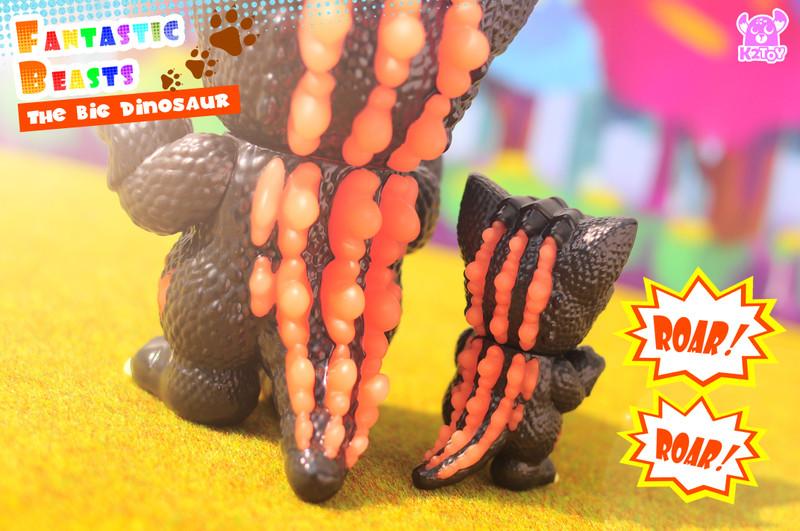 Ohonneko Fantastic Beasts The Big Dinosaur Hot Version by k2toy PRE-ORDER SHIPS JUN 2021