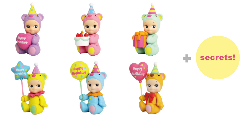Sonny Angel Birthday Gift Bear Blind Box