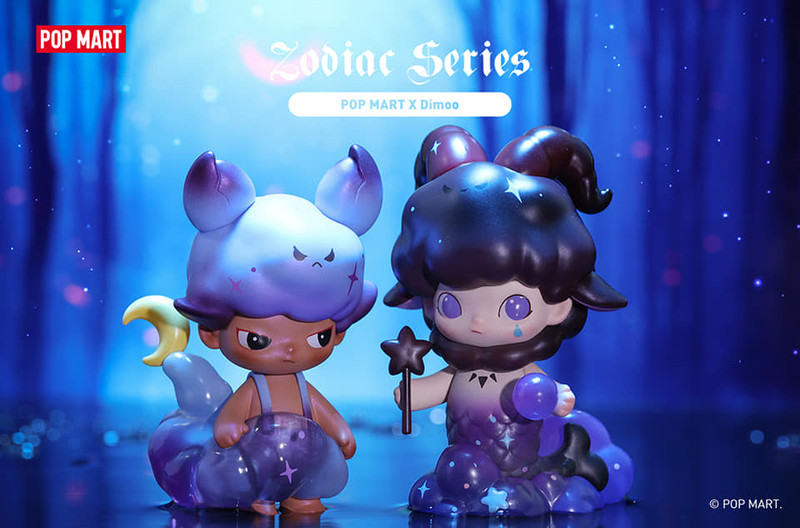 Dimoo Zodiac Mini Series Blind Box by Ayan