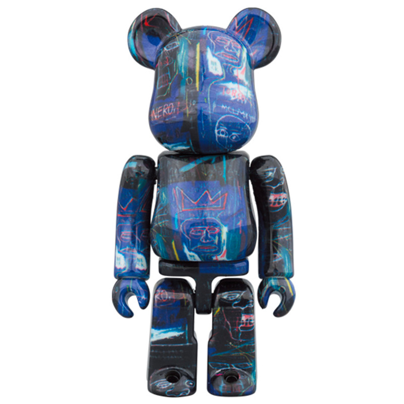 Be@rbrick 400% and 100% Jean-Michel Basquiat #7