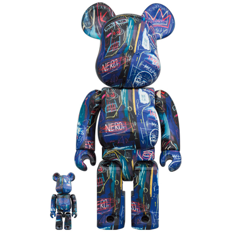 Be@rbrick 400% and 100% Jean-Michel Basquiat #7 PRE-ORDER SHIPS JUN 2021