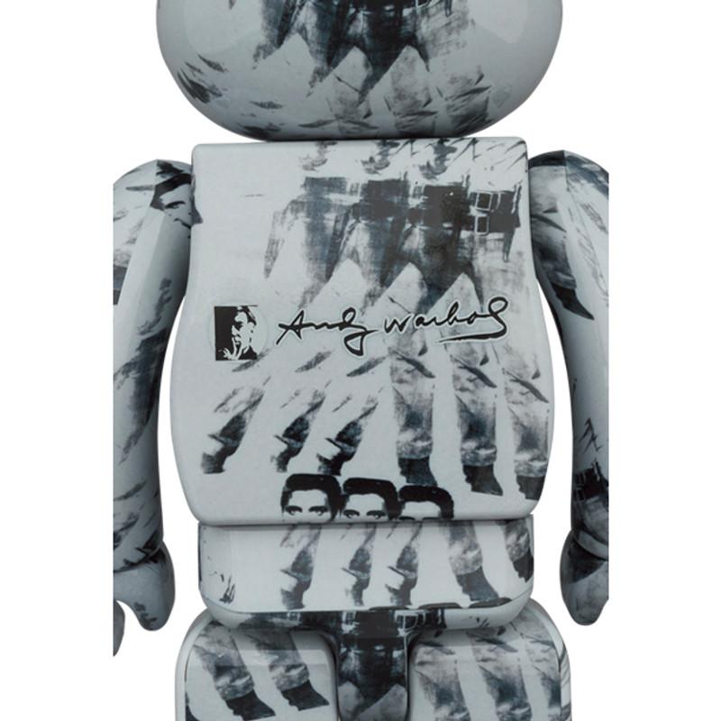 Be@rbrick 1000% Andy Warhol's Elvis Presley PRE-ORDER SHIPS JUN 2021