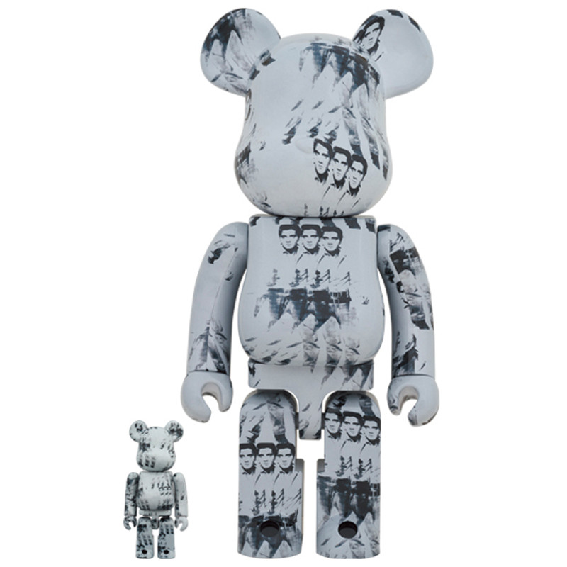 Be@rbrick 400% and 100% Andy Warhol's Elvis Presley PRE-ORDER SHIPS JUN 2021