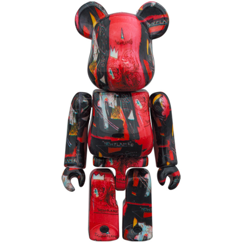 Be@rbrick 400% and 100% Andy Warhol X Jean Michel Basquiat #1 PRE-ORDER SHIPS JUL 2021