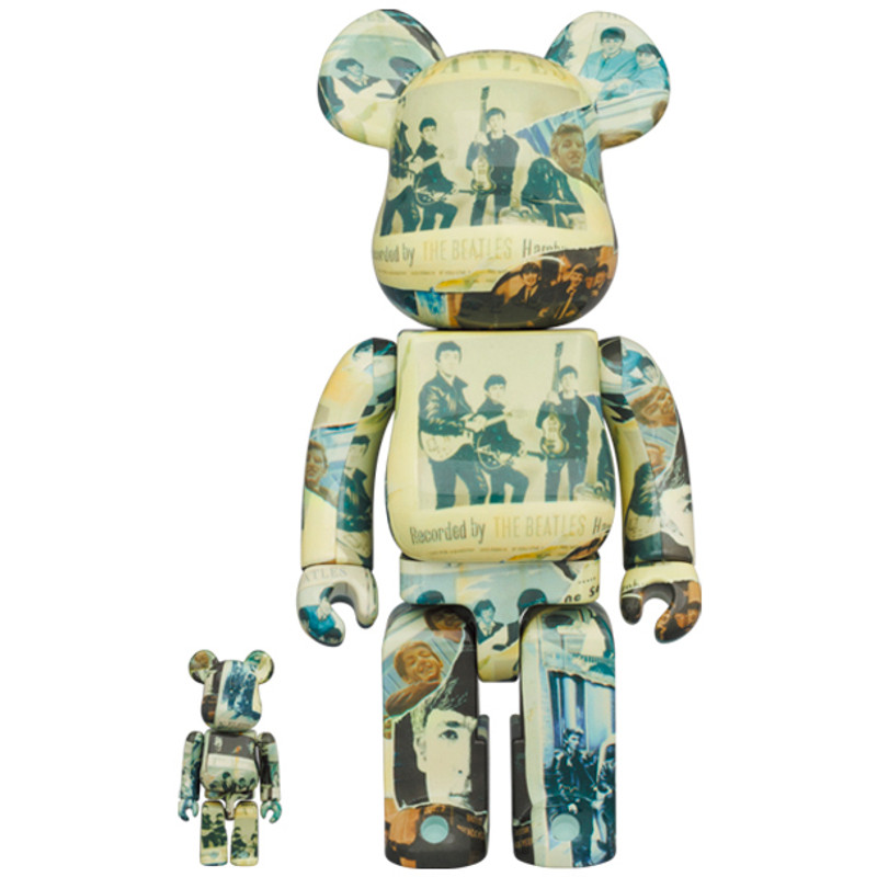 "Be@rbrick 400% and 100% The Beatles ""Anthology"" PRE-ORDER SHIPS JUL 2021"