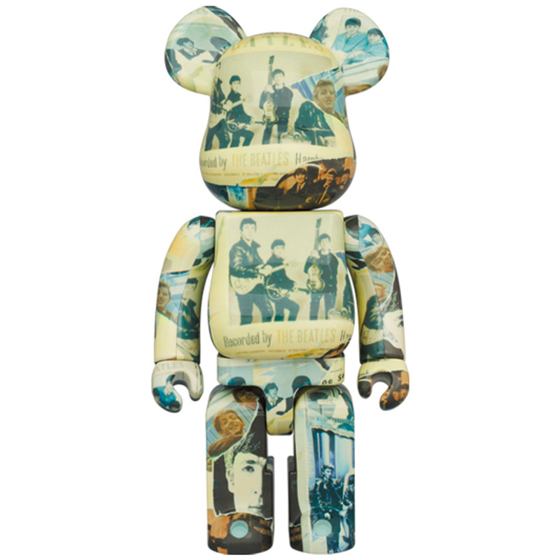 """Be@rbrick 400% and 100% The Beatles """"Anthology"""" PRE-ORDER SHIPS JUL 2021"""