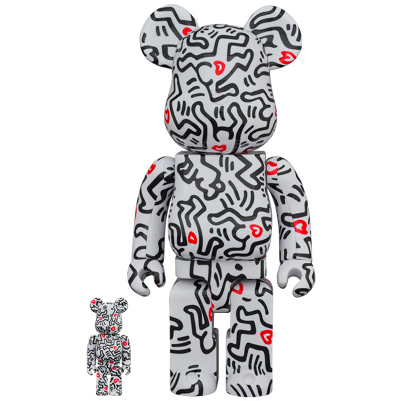 Be@rbrick 400% and 100% Keith Haring #8 PRE-ORDER SHIPS SEP 2021