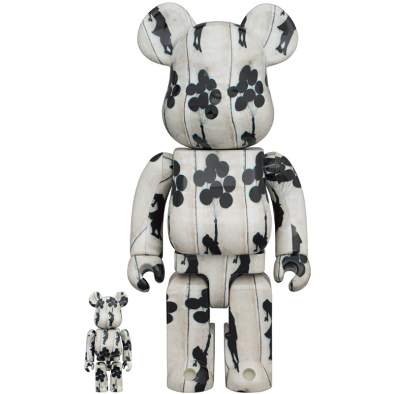 Be@rbrick 400% and 100% Flying Balloons Girl PRE-ORDER SHIPS NOV 2021