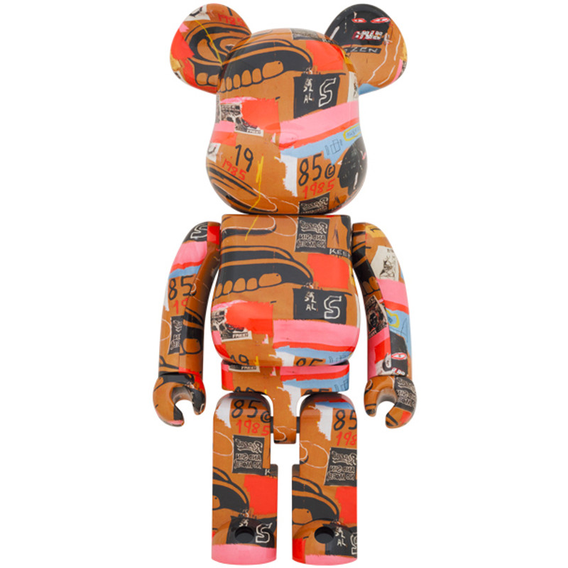 Be@rbrick 1000% Andy Warhol X Jean Michel Basquiat #2 PRE-ORDER SHIPS NOV 2021