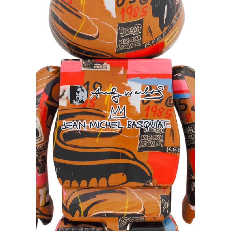 Be@rbrick 1000% Andy Warhol X Jean Michel Basquiat #2 PRE-ORDER SHIPS NOV 2021