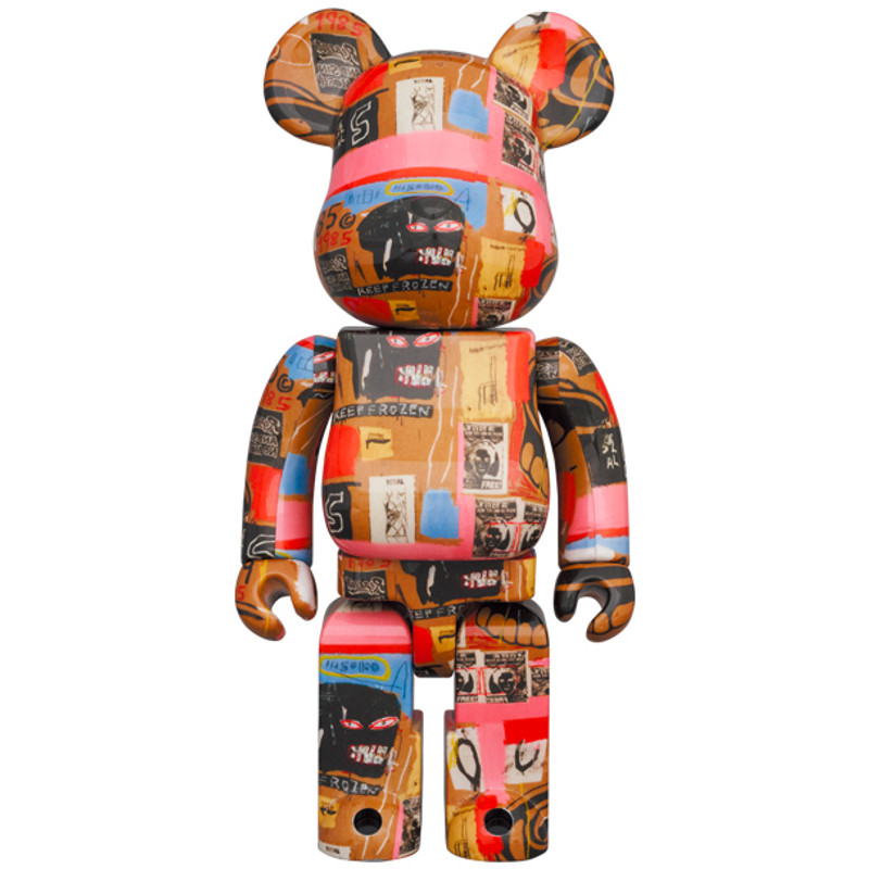 Be@rbrick 400% and 100% Andy Warhol X Jean Michel Basquiat #2 PRE-ORDER SHIPS NOV 2021