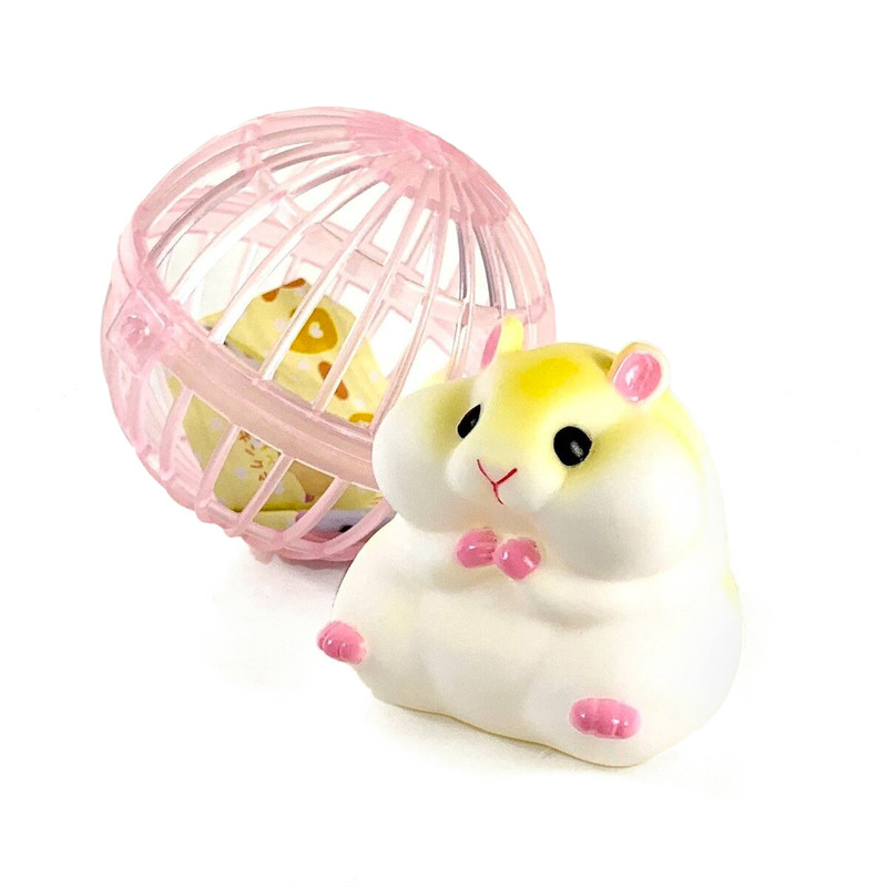 Soft Hamster Capsule Toys