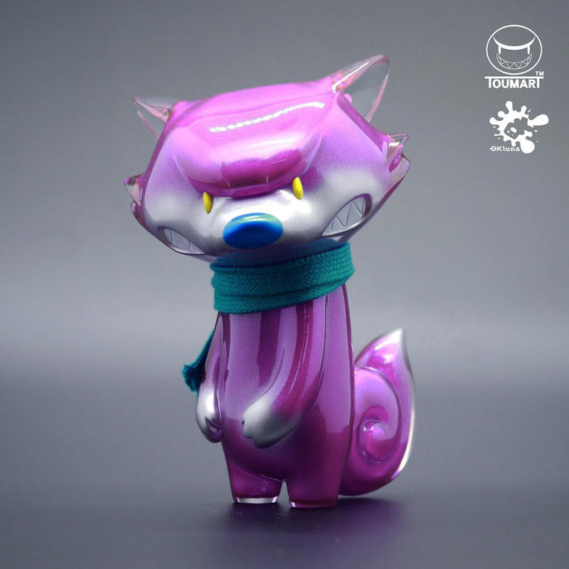 Tona the Angry Fox Purple by OkLuna x Touma PRE-ORDER SHIPS APR 2021