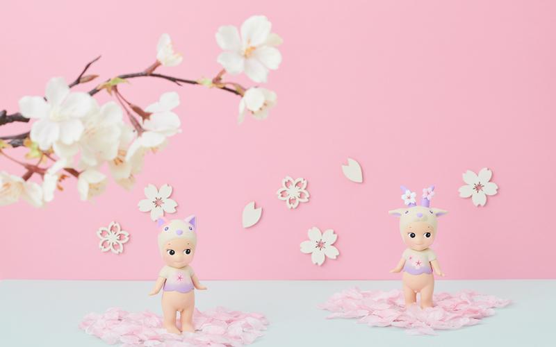 Sonny Angel Cherry Blossom Series Night Version Blind Box